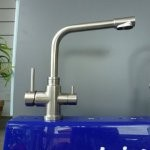 Stainless steel 3 way mixer